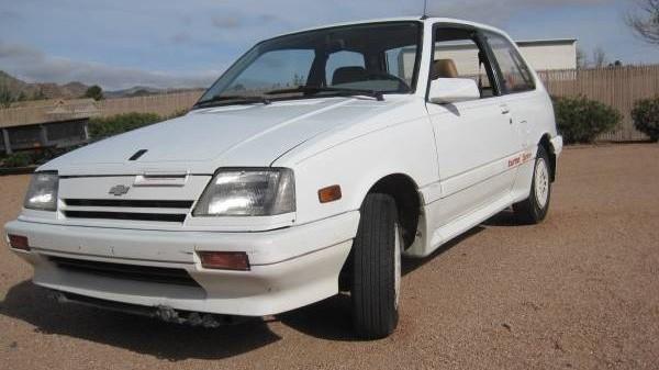 031416 Barn Finds - 1987 Chevrolet Sprint 1