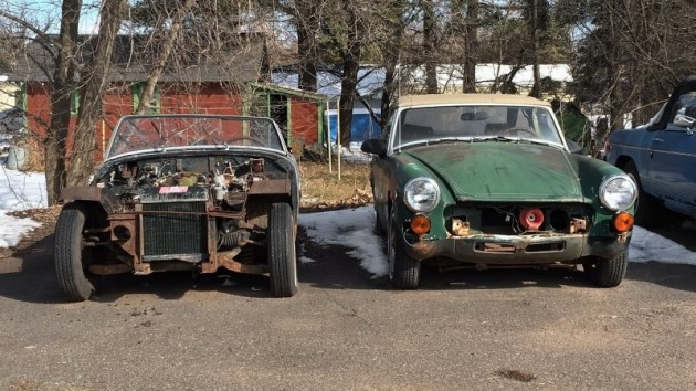 032116 Barn Finds - MG Midgets