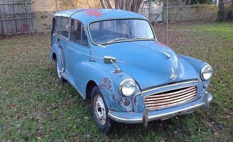 Major Minor 1959 Morris Minor Traveller