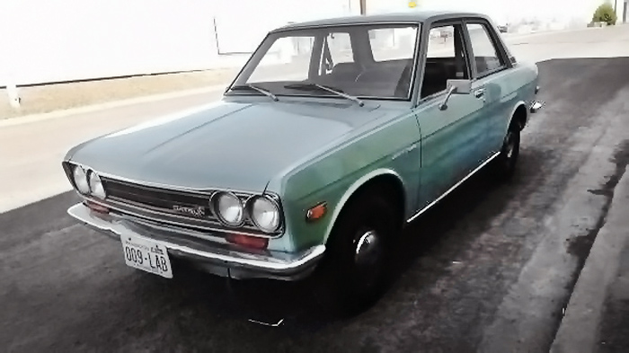 Brother, Can You Spare A Dime: 1970 Datsun 510