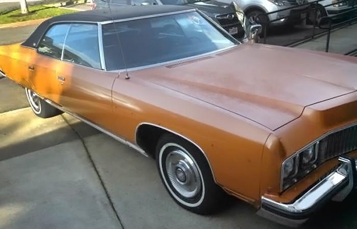 Orange Crush 1973 Chevrolet Caprice Classic Sport