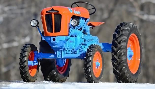 033016 Barn Finds- 19XX Lamborghini 1R Tractor - 1