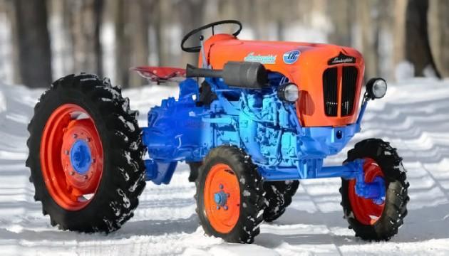 033016 Barn Finds- 19XX Lamborghini 1R Tractor - 4