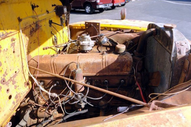 1948 Chevrolet Bus Engine