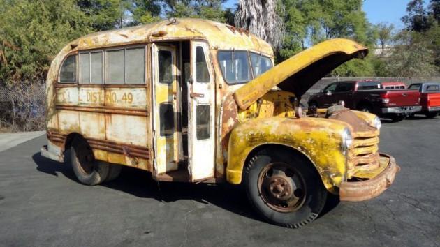 Coolest Short Bus: 1948 Chevrolet School Bus