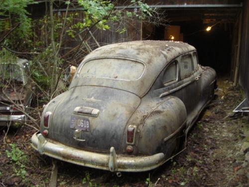1948 Desoto Limo Barn Find