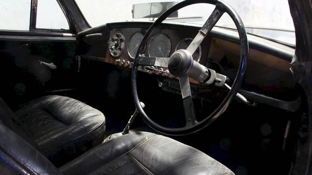 1955 Aston Martin DB2-4 Interior