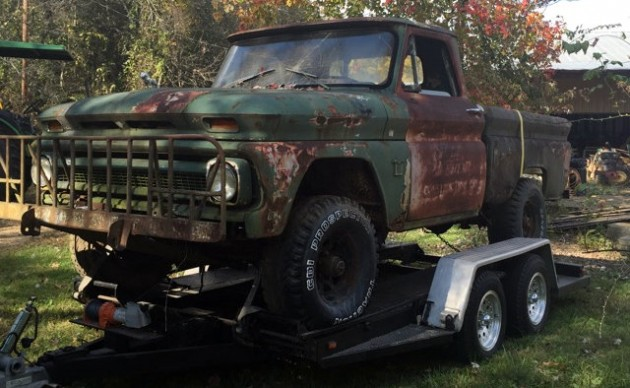 1964 Chevy K10 Shortbed 6