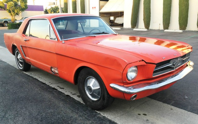 1965 Ford Mustang Project