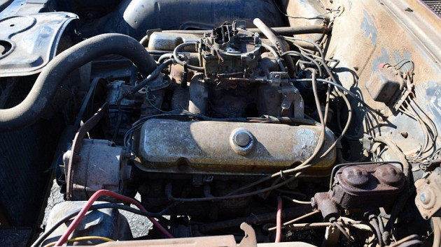 1967 Pontiac GTO Engine