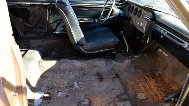 1967 Pontiac GTO Interior