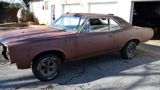 1967 Pontiac GTO Project