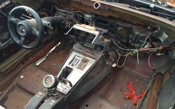 1969 Corvette Interior