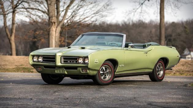 1969 Pontiac GTO Judge Convertible