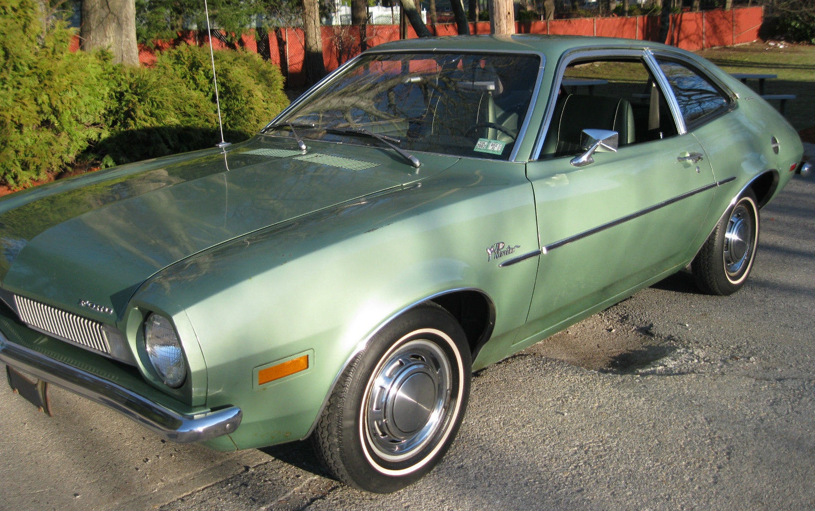 Picture Of A Ford Pinto Car