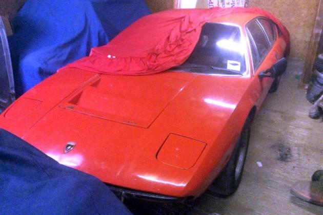 1972 Lamborghini Urraco Cleaned Up