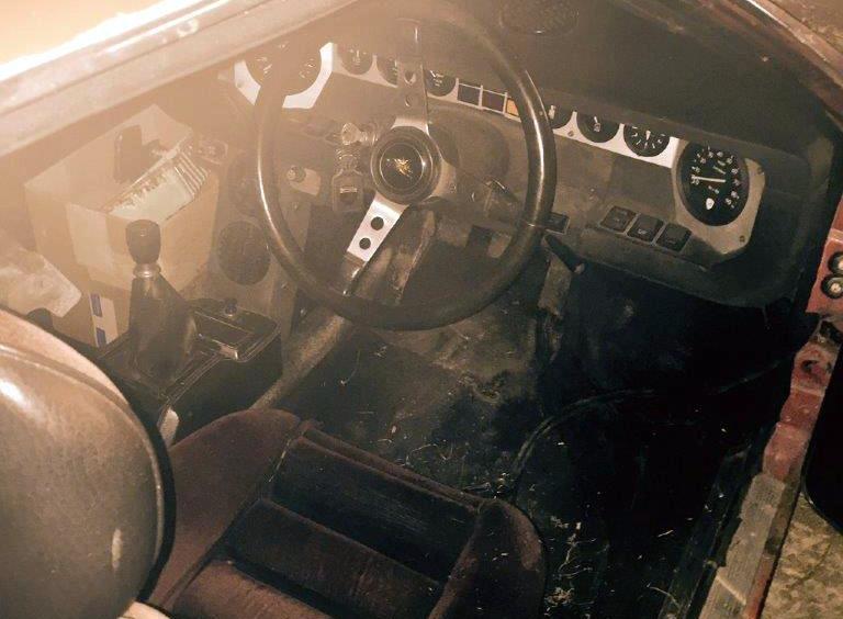 1972 Lamborghini Urraco P250 Barn Find