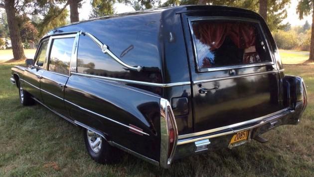 1973 Cadillac Miller Meteor Hearse
