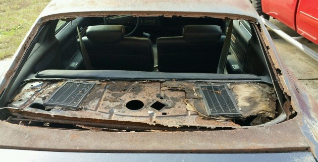 1973 Chevelle SS 454 Rust