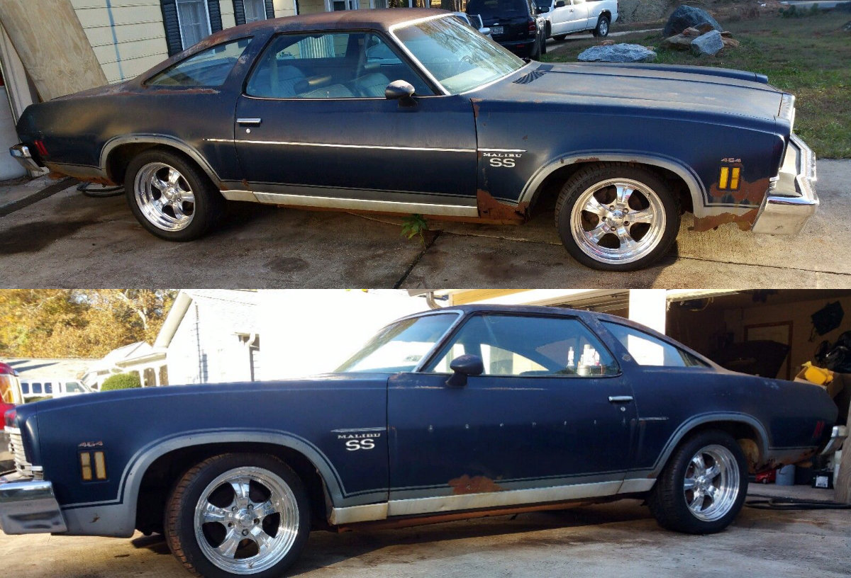 454 In The Barn: 1973 Chevelle SS
