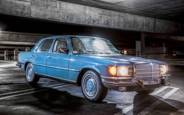 1973 Mercedes 450SE