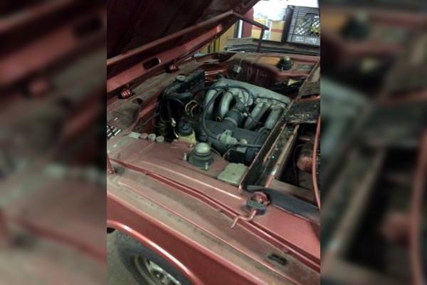 1974 BMW 2002tii Engine