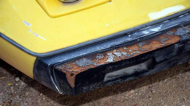 1979 Lotus Eclat Bumper