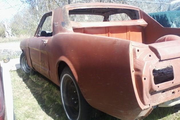 Mustang Pickup Conversion