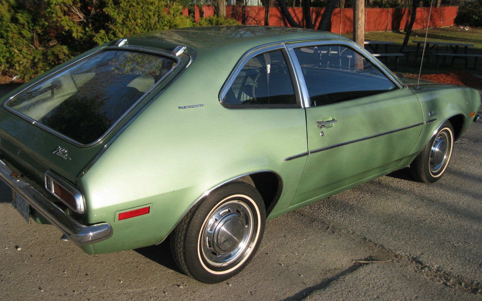 A Tale of 2 Pintos: Saddle Up