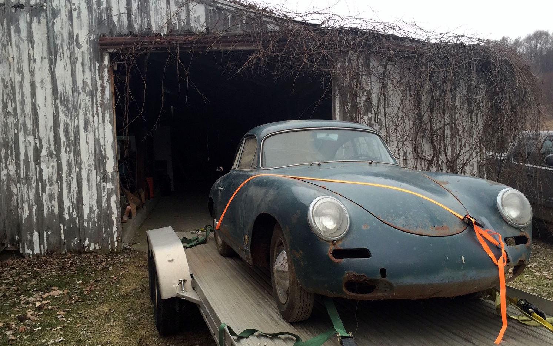 Still Wearing Snow Tires 1960 Porsche 356b