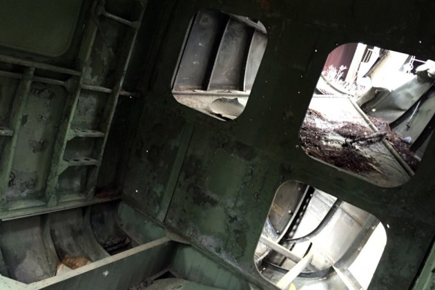 Sikorsky H-19 Cargo Hold