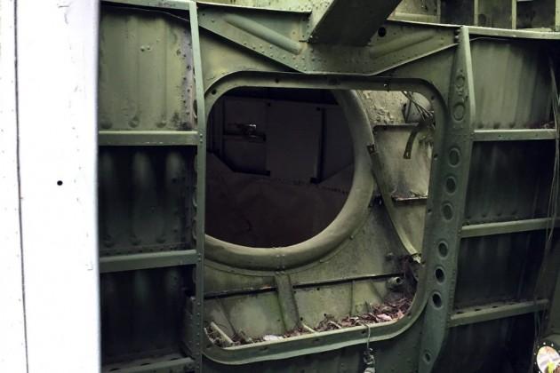 Sikorsky H-19 Engine Bay