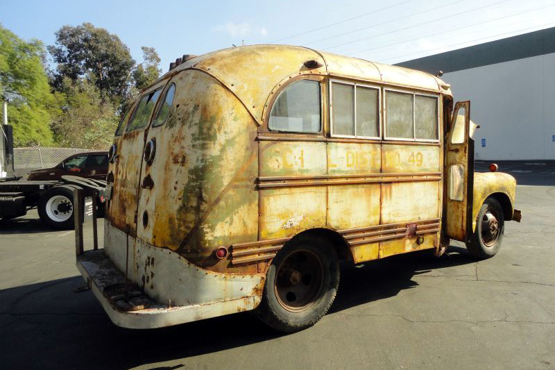 Coolest Short Bus 1948 Chevrolet School Bus