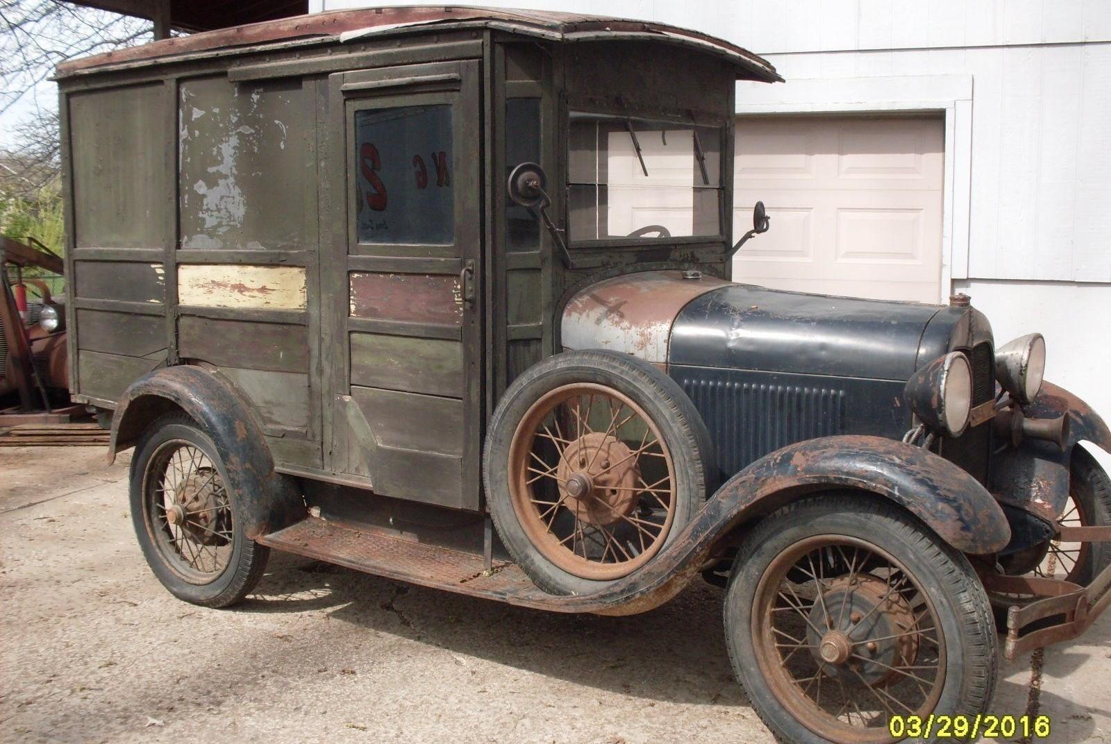 wait a minute mr postman 1929 mail truck. Black Bedroom Furniture Sets. Home Design Ideas