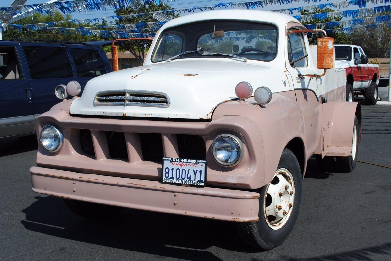 Shorty Hauler 1957 Studebaker Transtar Chevy Truck Clutch Linkage
