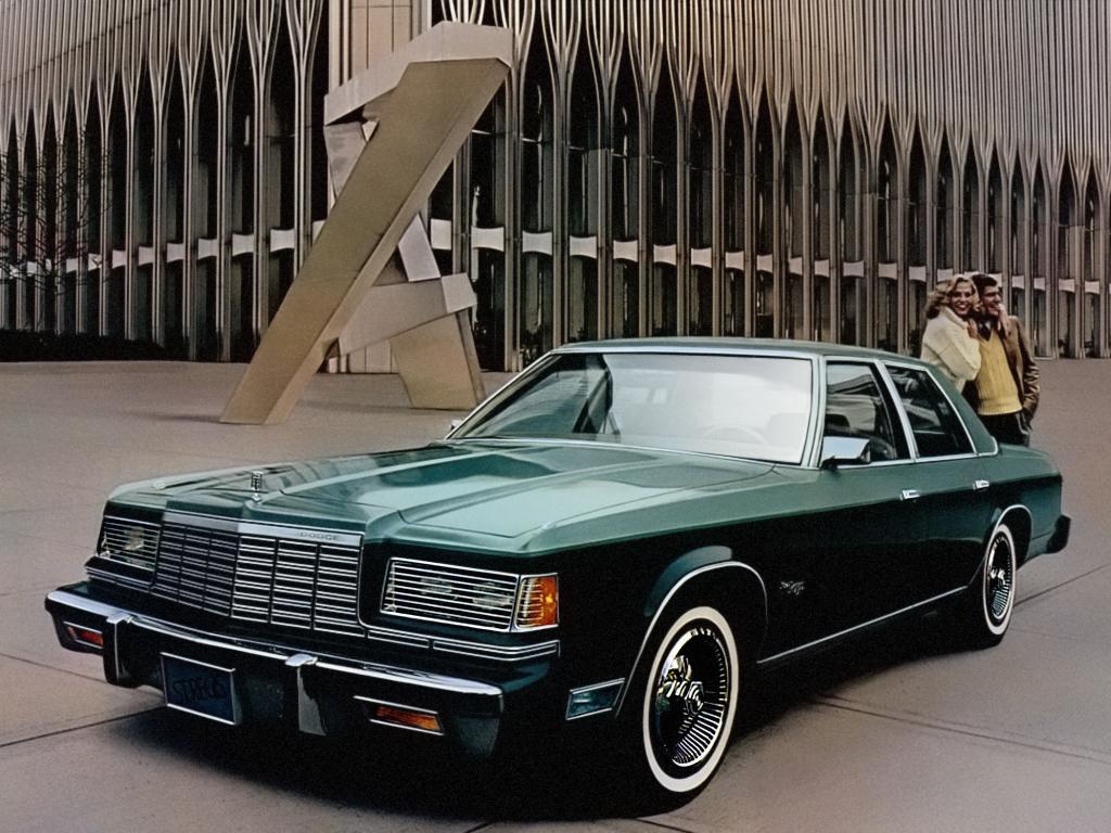 Gold and Cold: 1982 Dodge Mirada CMX