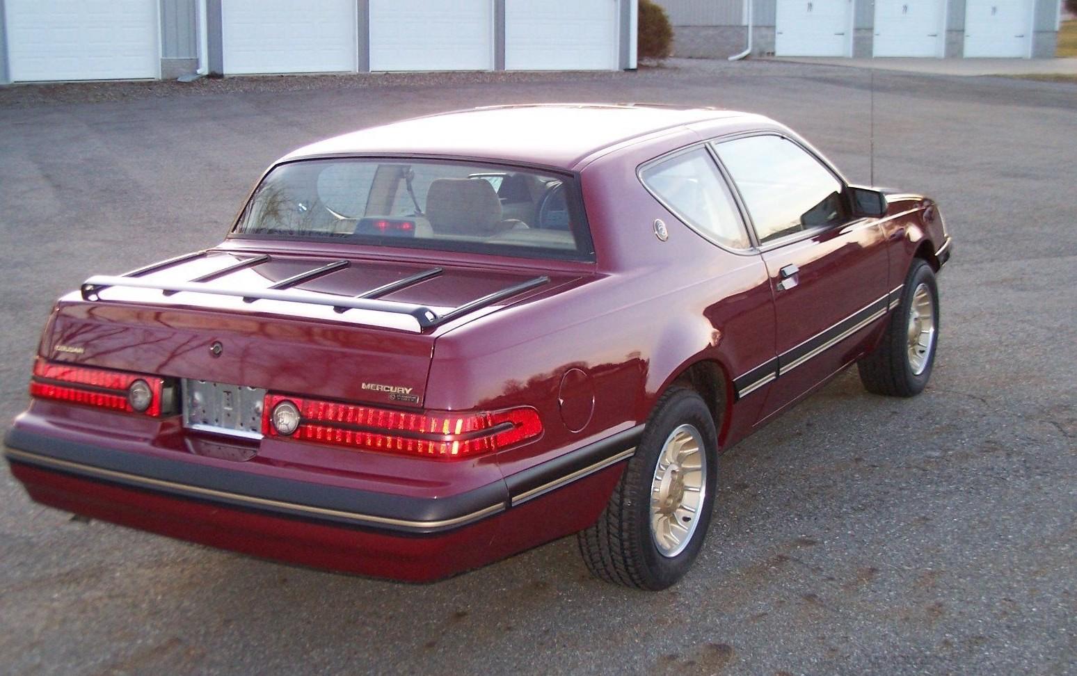 Gentleman S Mustang 1987 Mercury Cougar