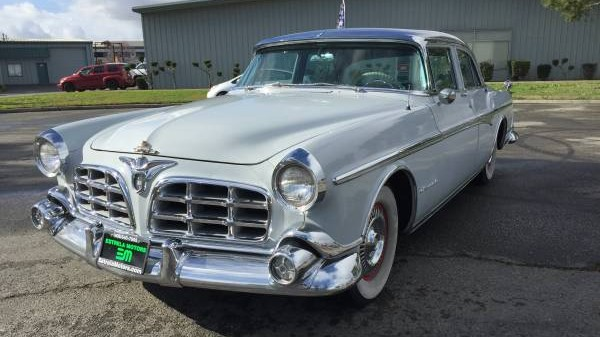 Heavy Hemi Survivor 1955 Chrysler Imperial Sedan