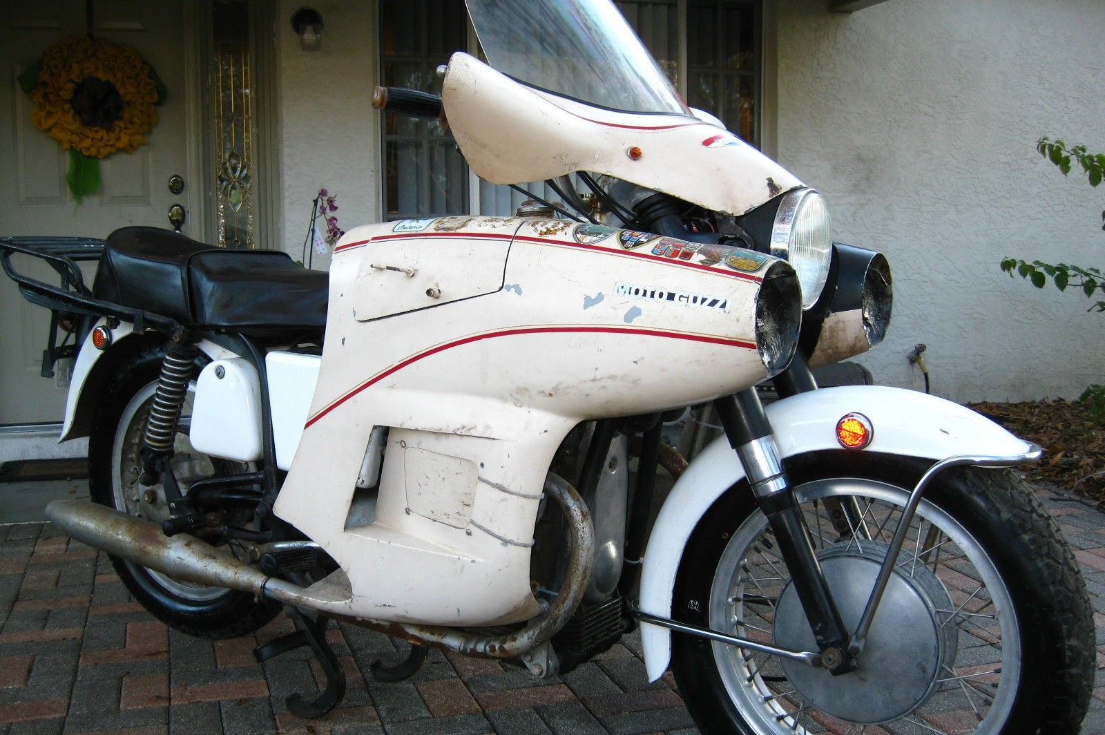 space age fairing: 1971 moto guzzi ambassador