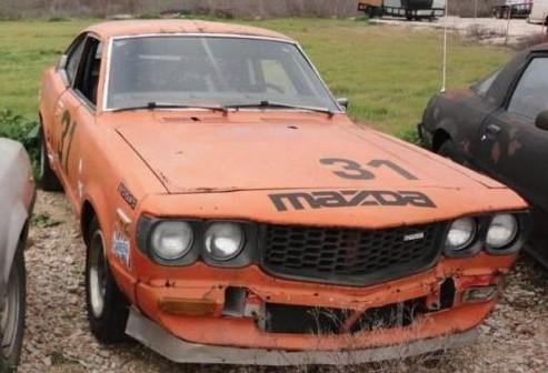Logbooks Included: 1977 Mazda RX3