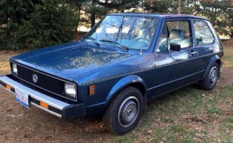 Vw Golf For Sale >> 22K Mile Diesel: 1979 VW Rabbit