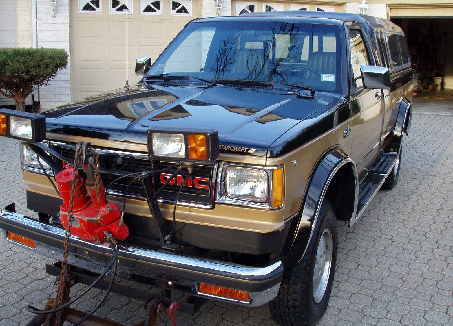 Preserved Plow Truck 1983 Gmc High Sierra