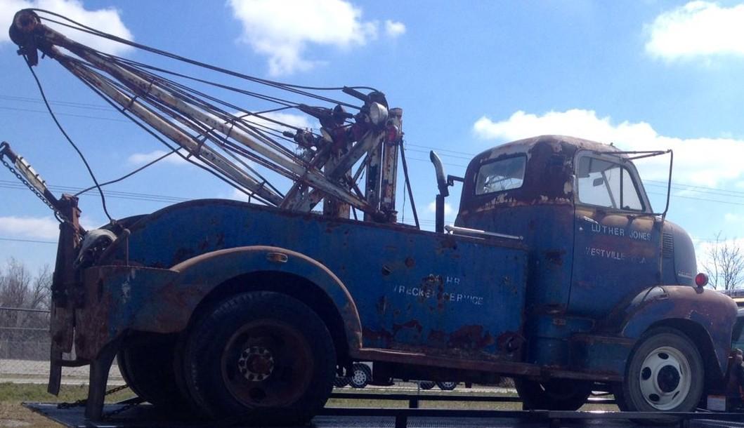 Still Winching: 1948 Chevy COE Wrecker