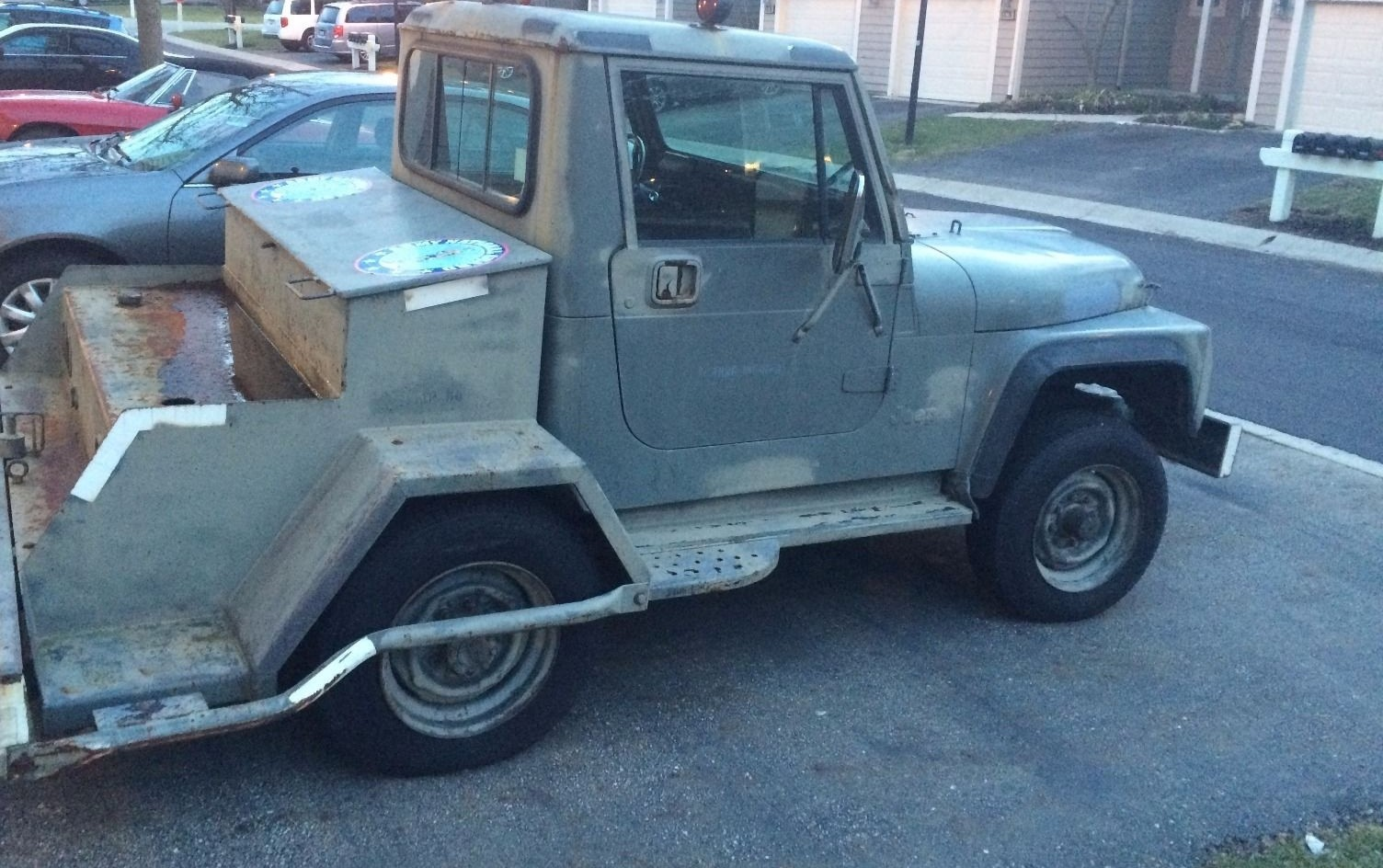Rise of the Flight Tugs: 1986 Jeep CJ