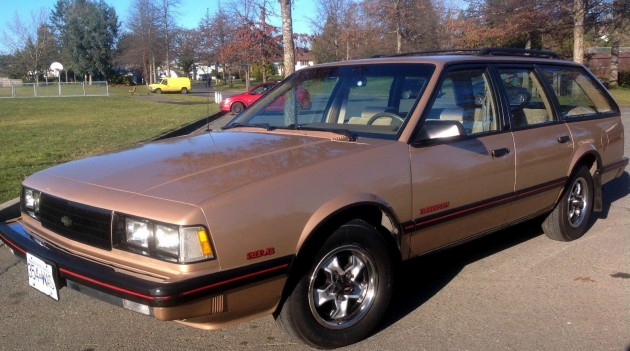 12k In Miles >> 12K From New: 1986 Chevy Celebrity EuroSport
