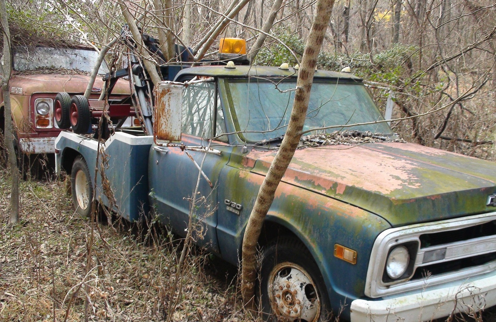 Estate Cleanout: Chevy Tow Rigs and Hudson Hornet