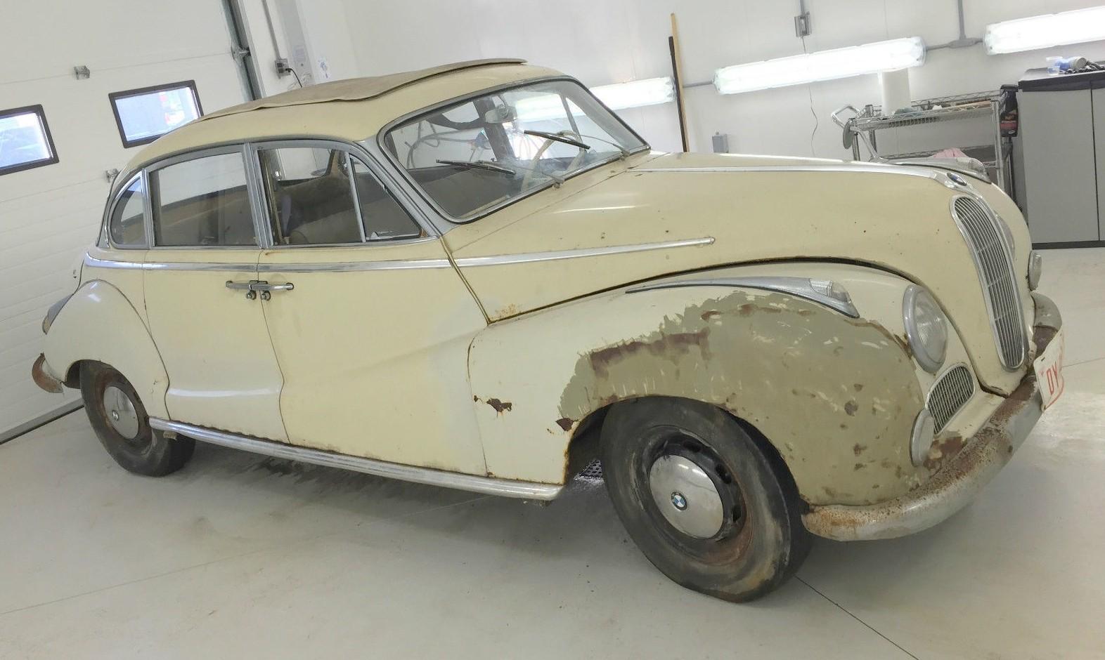41 Year Sleep: 1961 BMW 502