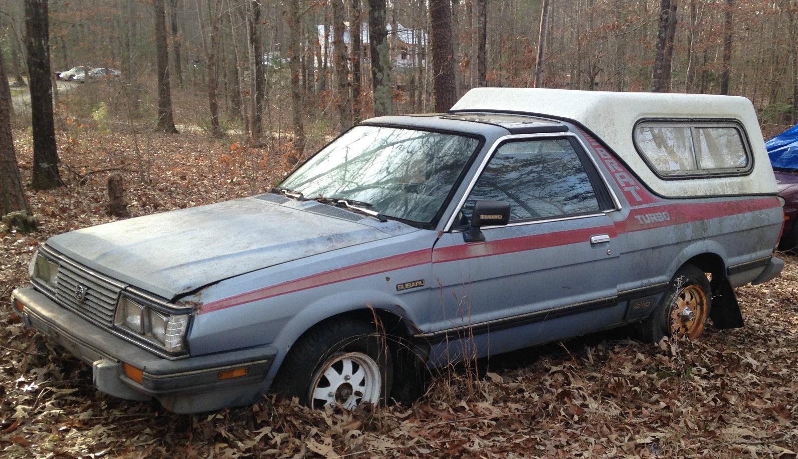 My Car Store >> Turbo Traction: 1984 Subaru Brat