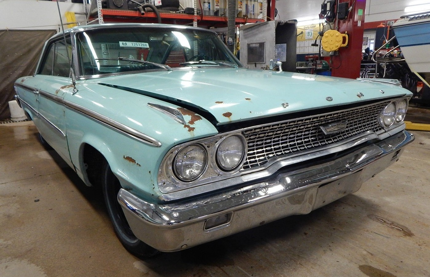 1963 ford galaxie parts ebay - Reader Don T Writes Hi Guys There Is A 1963 Ford Galaxie Fastback Z Code With Original Drive Train On Rawhide S Ebay Site I Work For Rawhide And
