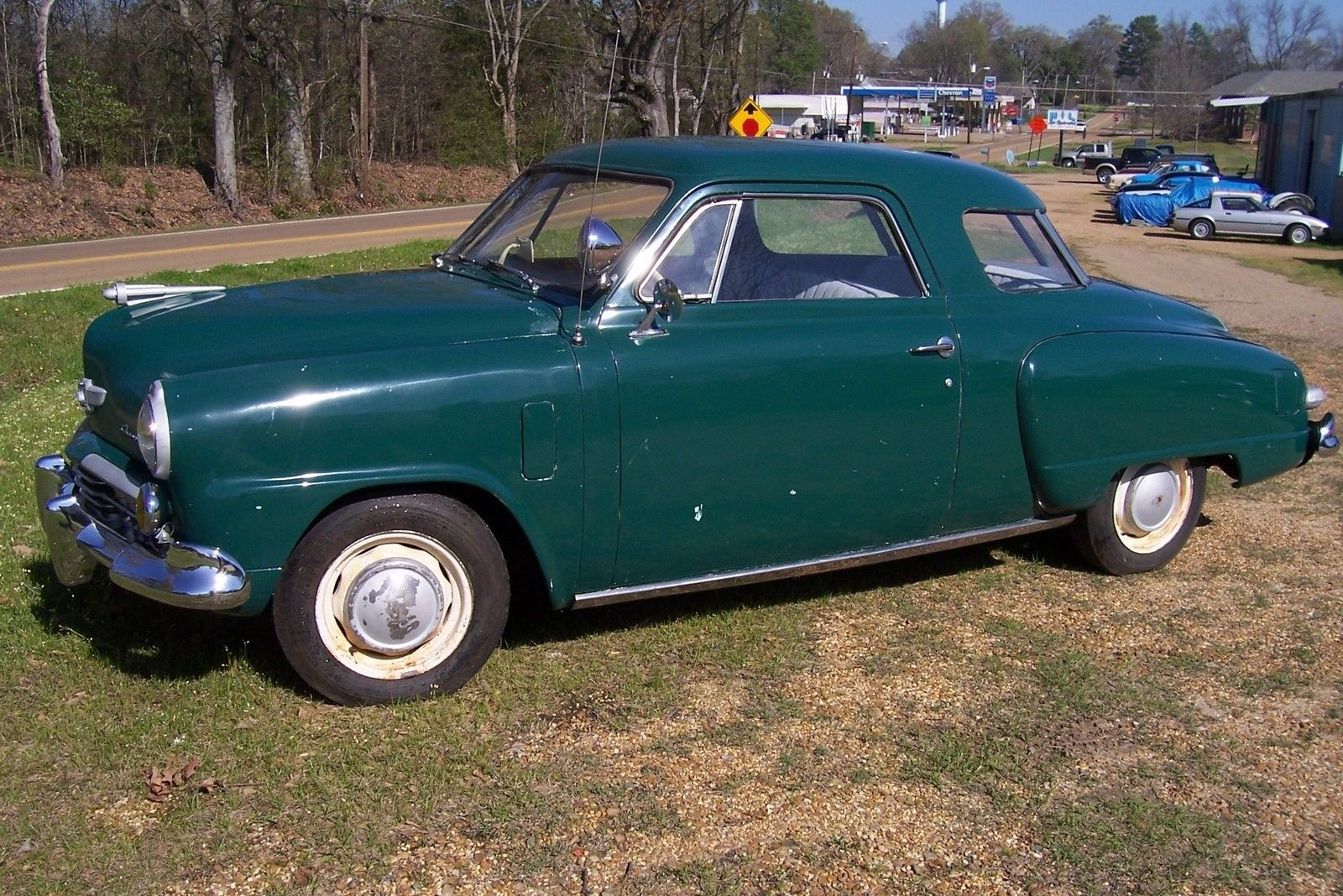 Lots Of Glass 1948 Studebaker Champion Starlight